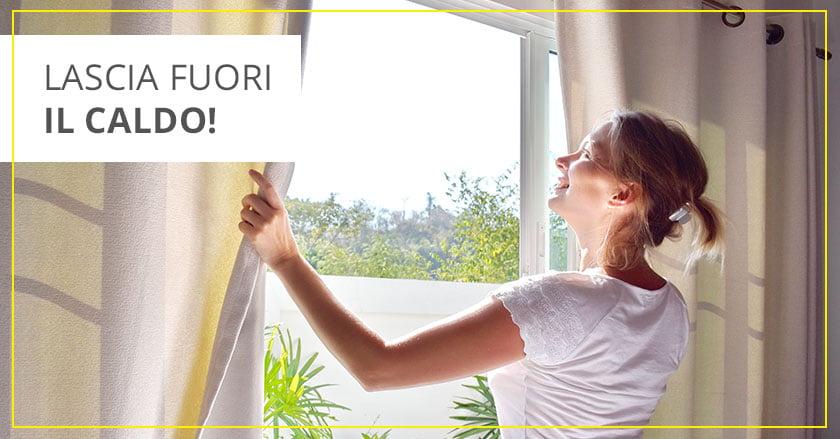 Isolamento termico finestre