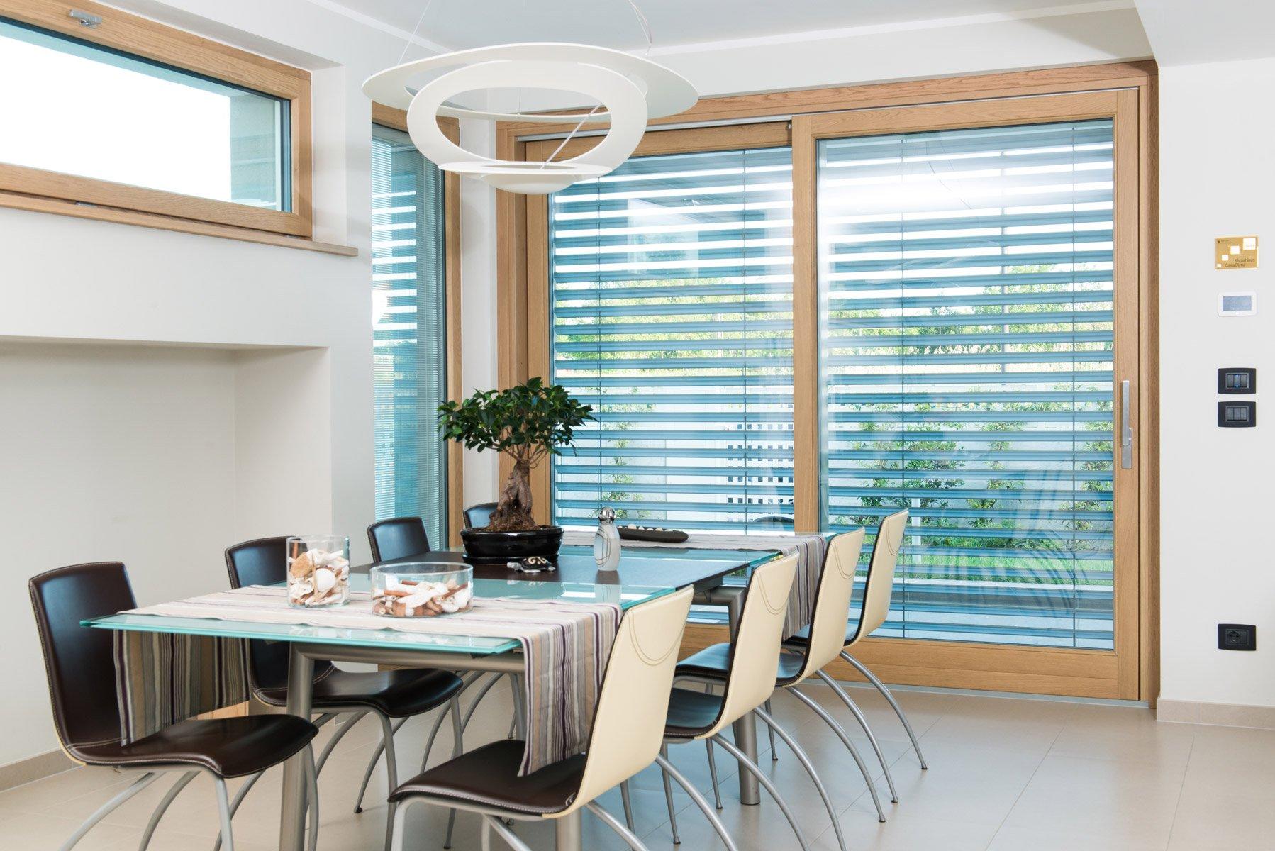 isolamento termico finestre - veneziana ombreggiante integrata