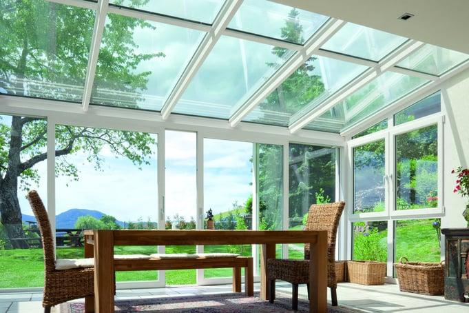 veranda in legno finestre pavanello