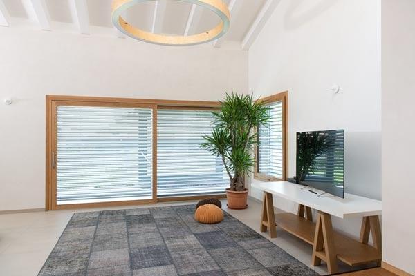 versatilità finestre in legno