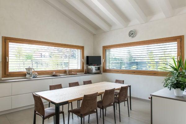 Produzione e Progettazione infissi-finestre sostenibili